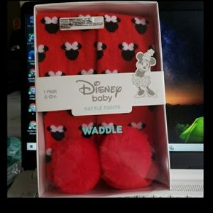 NWT Disney baby raffle tight red 6-12 M